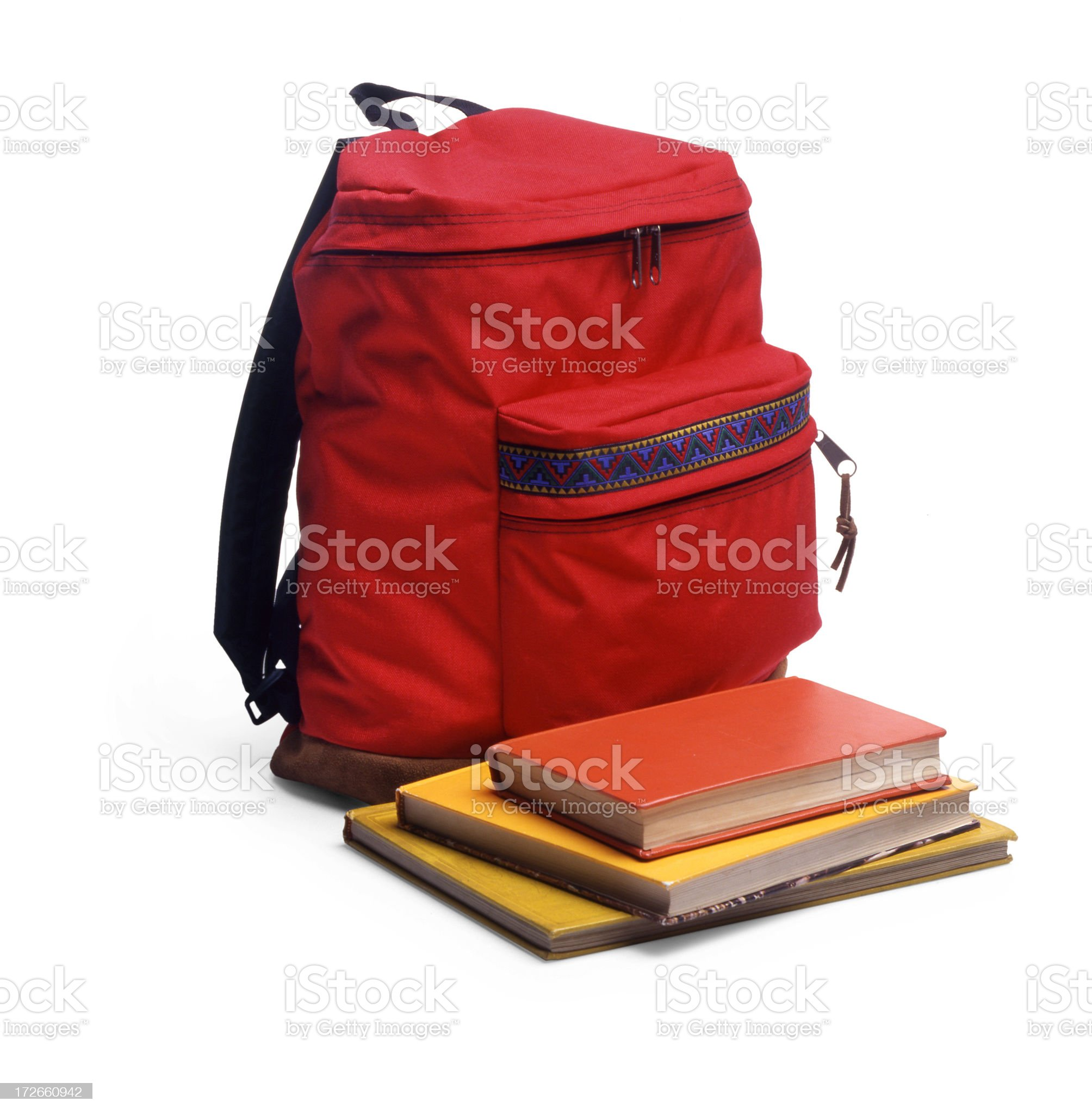 school backpack royalty-free stock photo