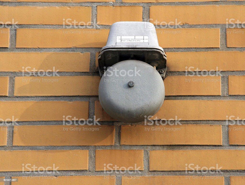 School bell royalty-free stock photo
