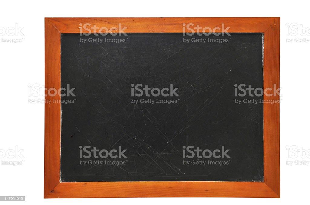 School Blackboard Isolated stock photo
