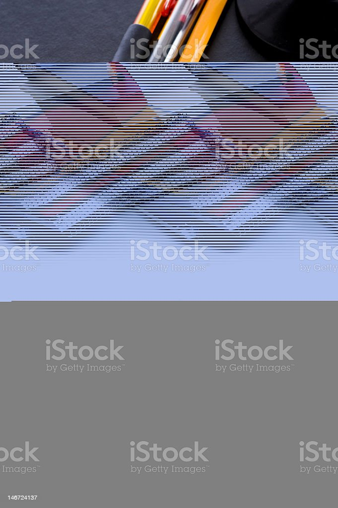School Books and a Globe royalty-free stock photo