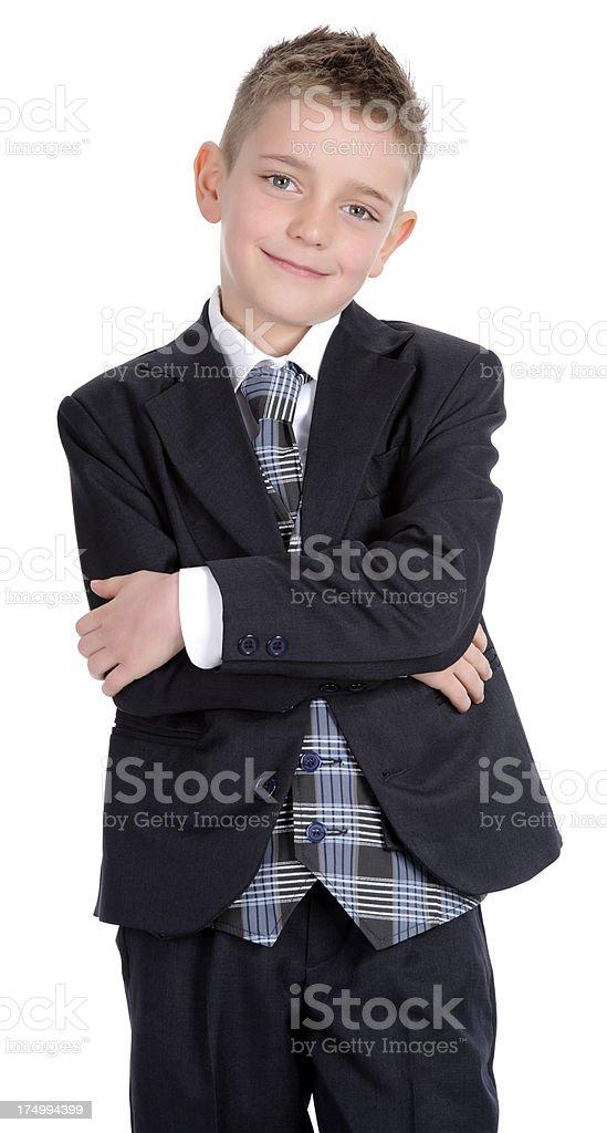 school boy in uniform royalty-free stock photo