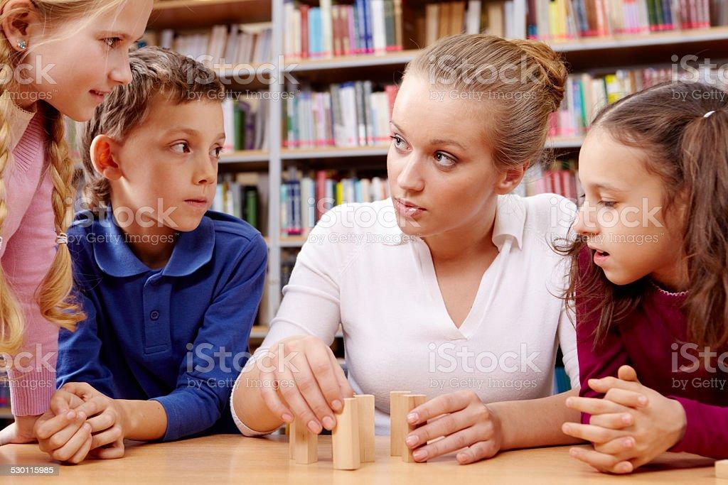 School break stock photo