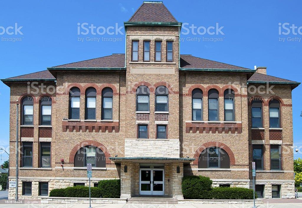 School Building royalty-free stock photo