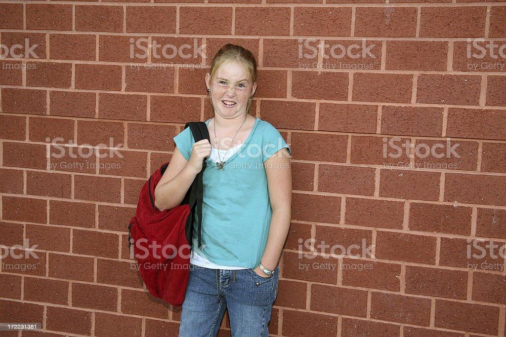 School Bully stock photo