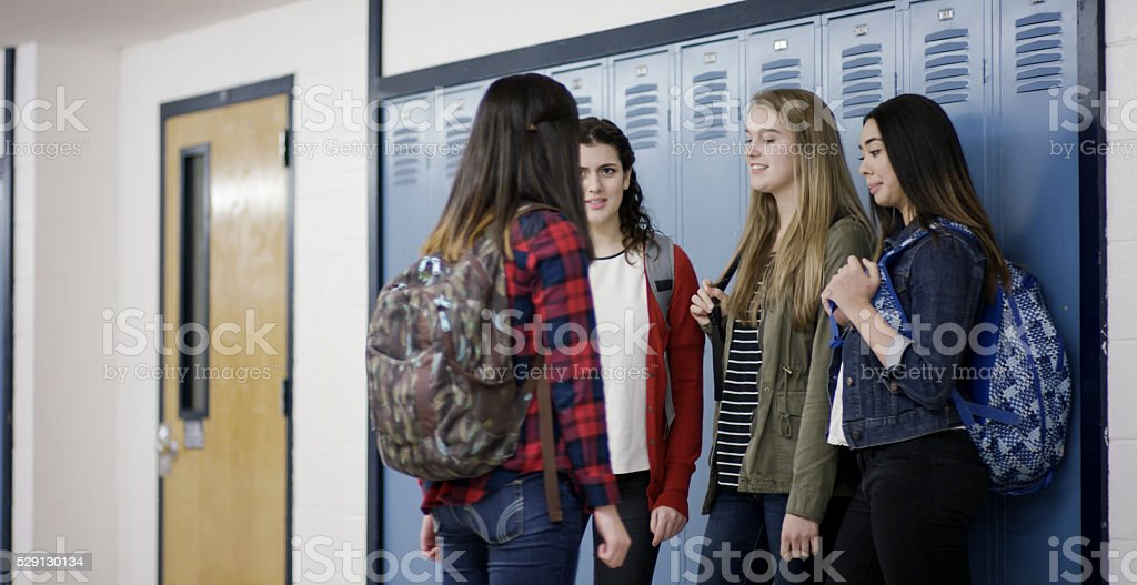 School bullying stock photo