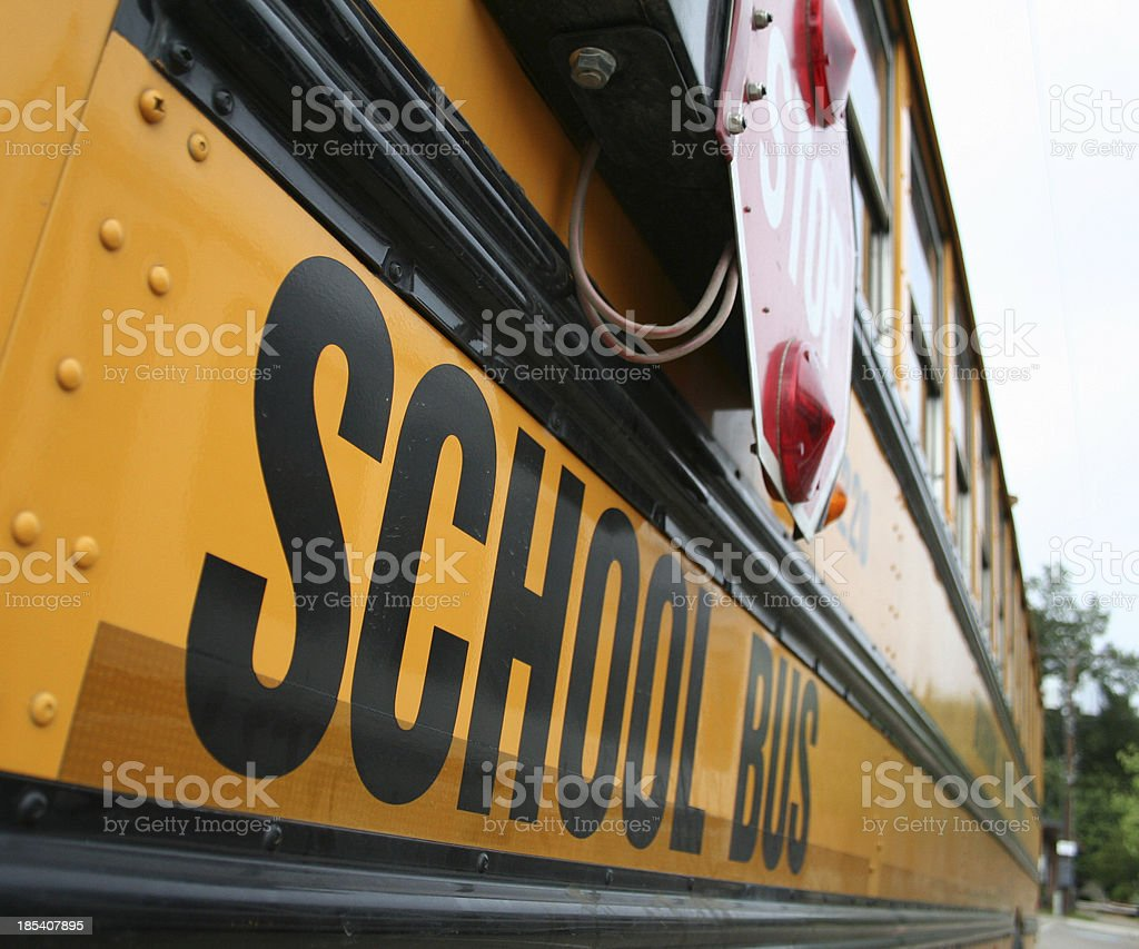 School Bus 1 stock photo