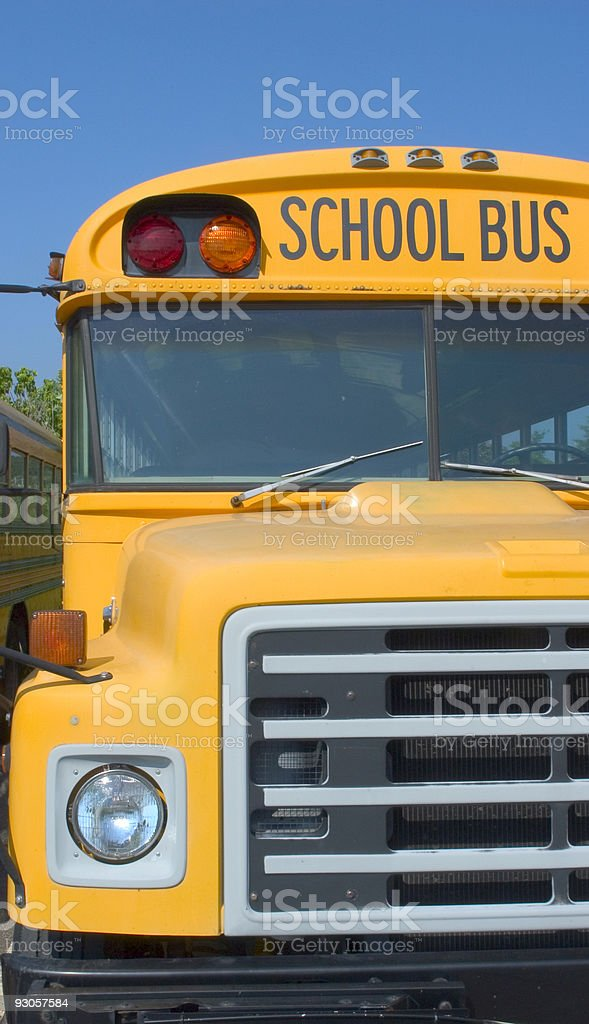 School Bus 3 royalty-free stock photo