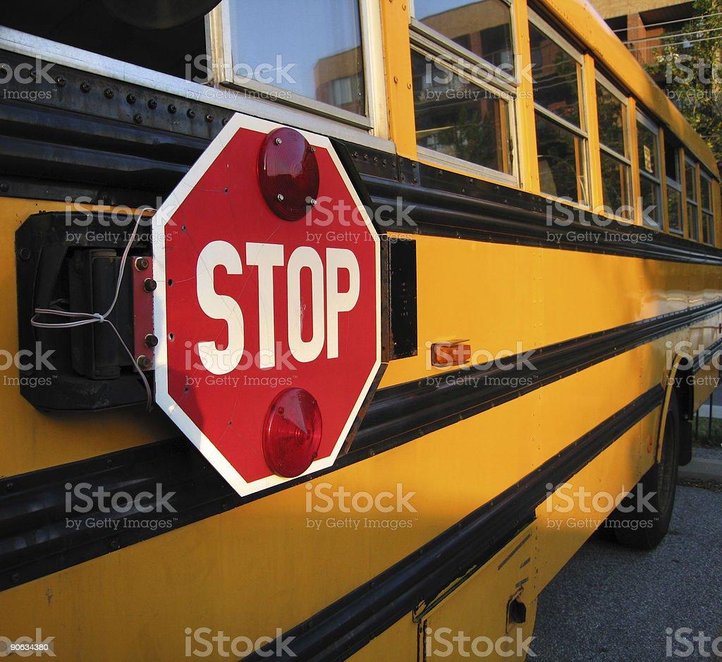 School Bus Detail royalty-free stock photo