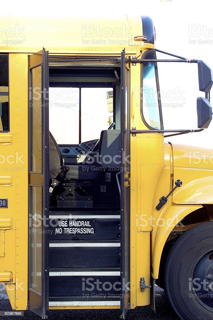 School Bus Door royalty-free stock photo