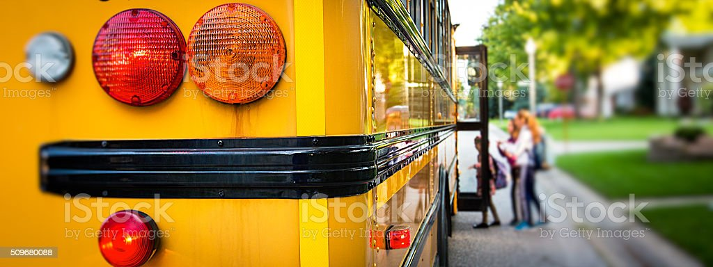 School Bus stock photo