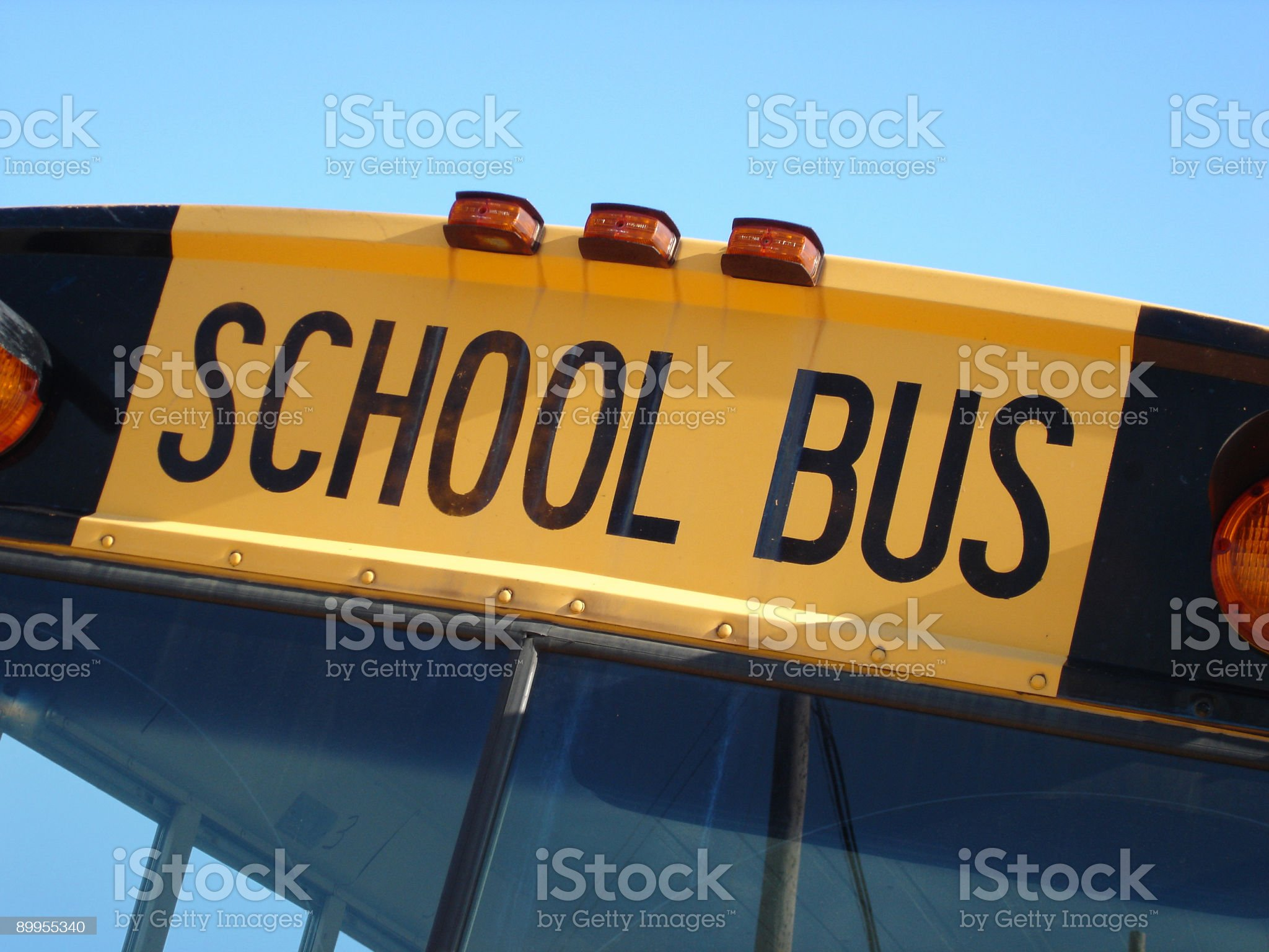 School Bus Top royalty-free stock photo