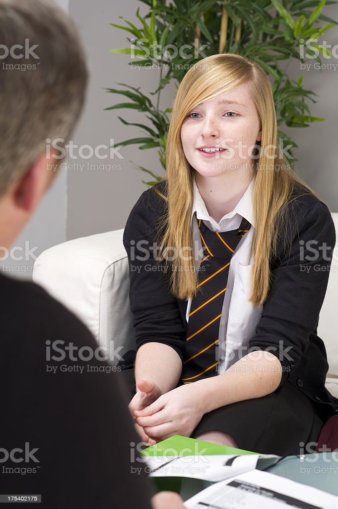 school counselling royalty-free stock photo