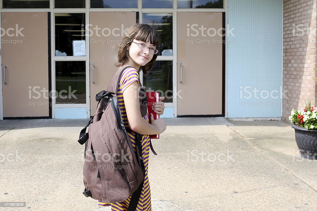 School Days royalty-free stock photo