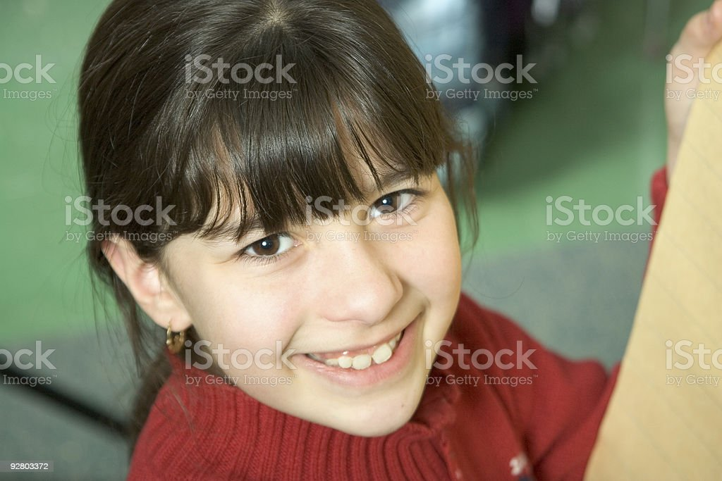 School Days - Smiling Student royalty-free stock photo