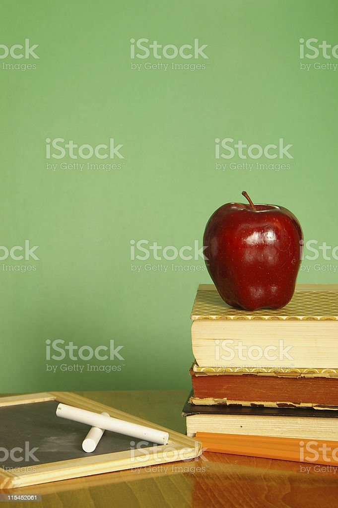 School Days Vertical royalty-free stock photo