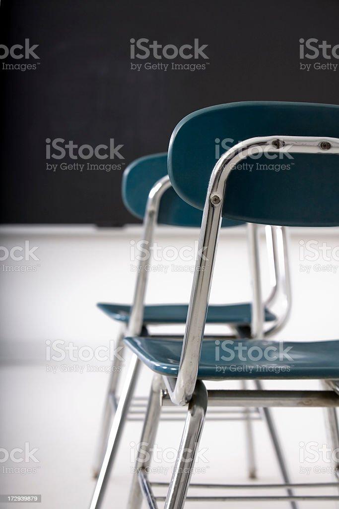 school desks royalty-free stock photo