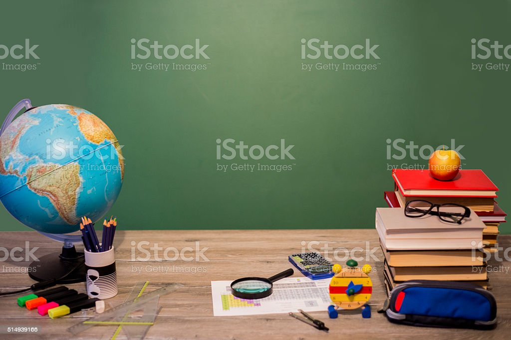 School education concept stock photo