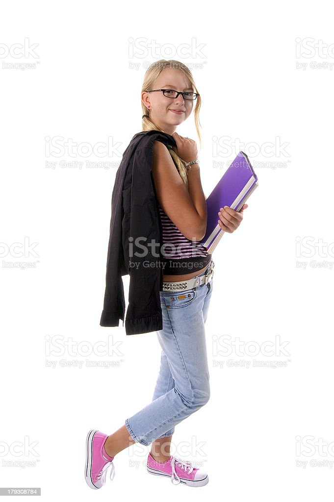 School Fashions stock photo