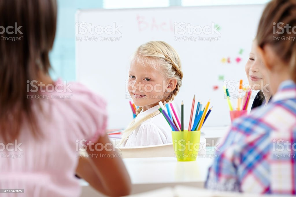 School for girls royalty-free stock photo