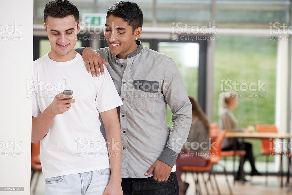 School Friends royalty-free stock photo