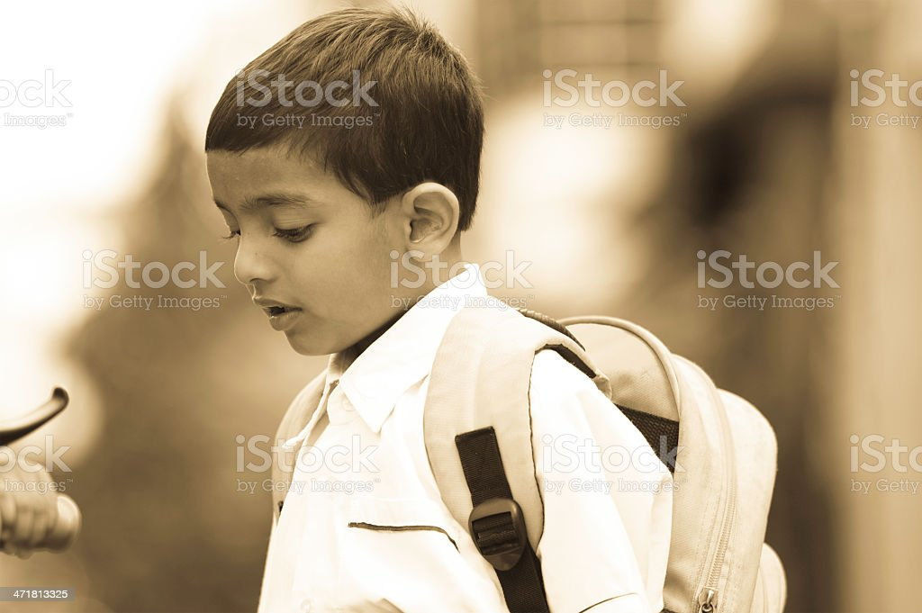 school going kid royalty-free stock photo