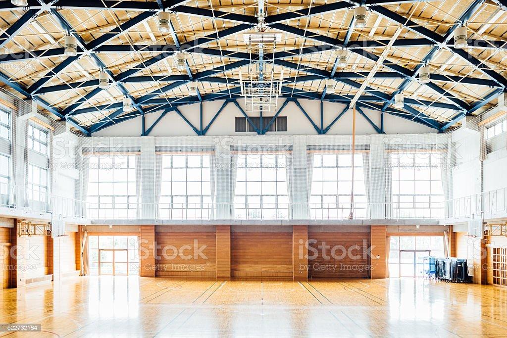 School GYM stock photo