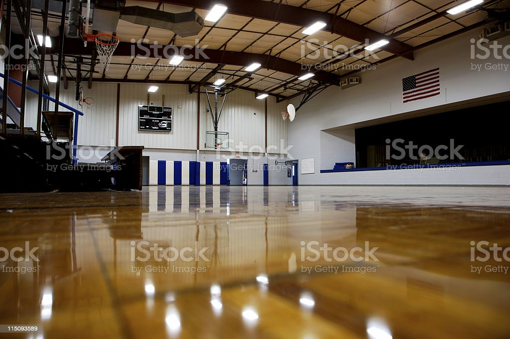 school gymnasium royalty-free stock photo
