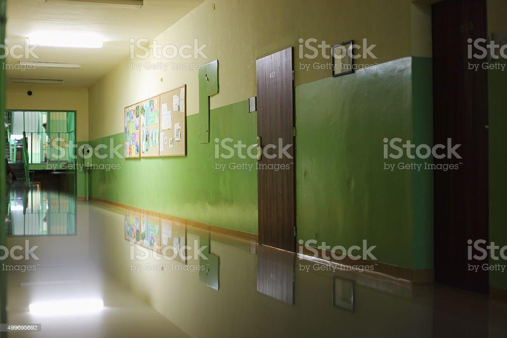 school hall royalty-free stock photo