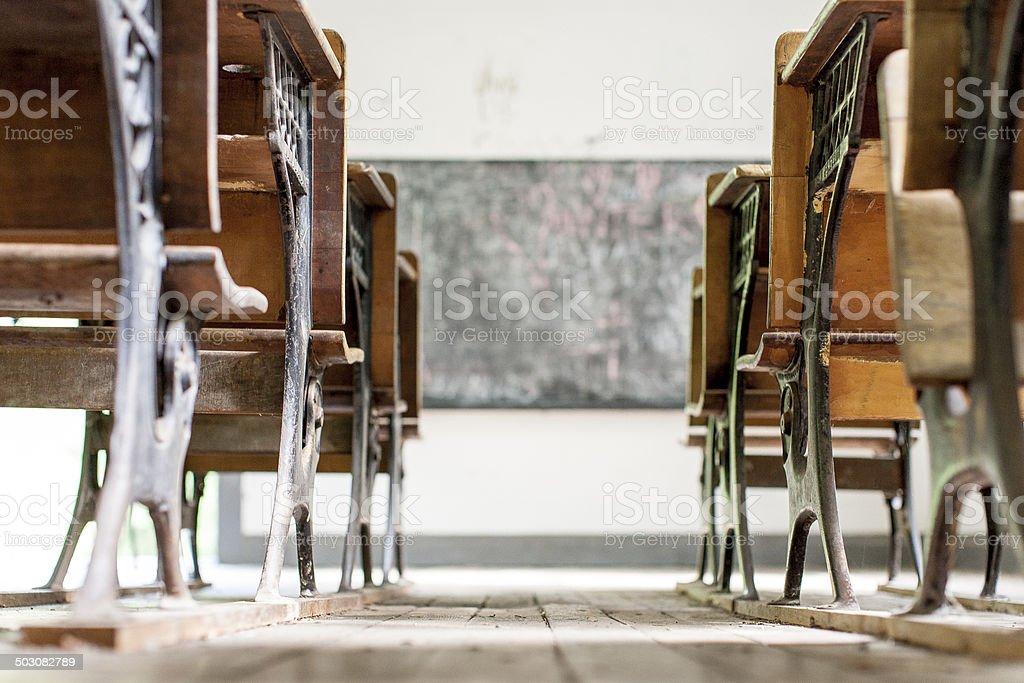 School House View stock photo