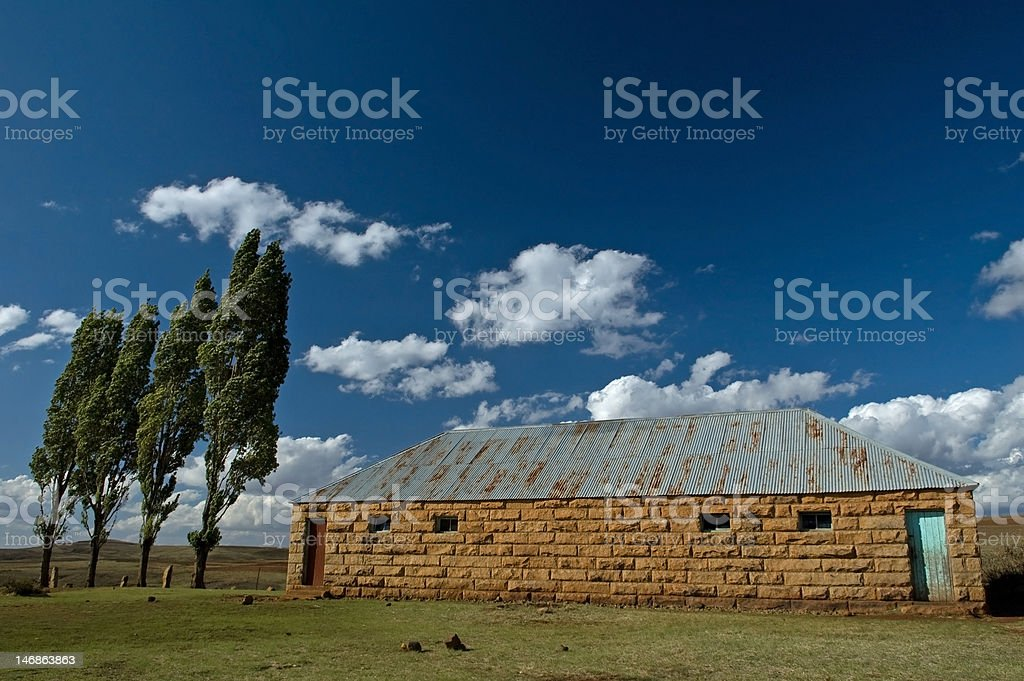 School in Africa royalty-free stock photo