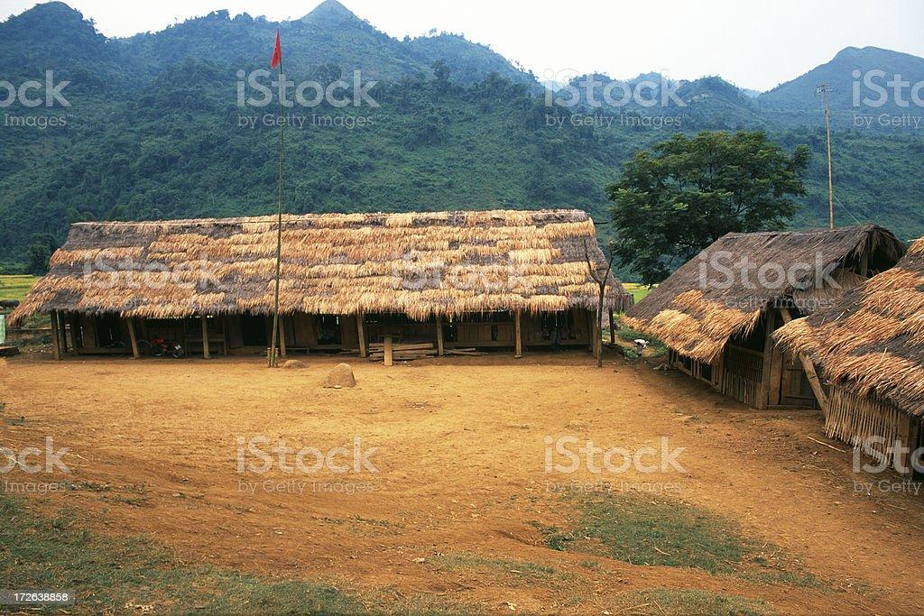 School in Vietnam royalty-free stock photo