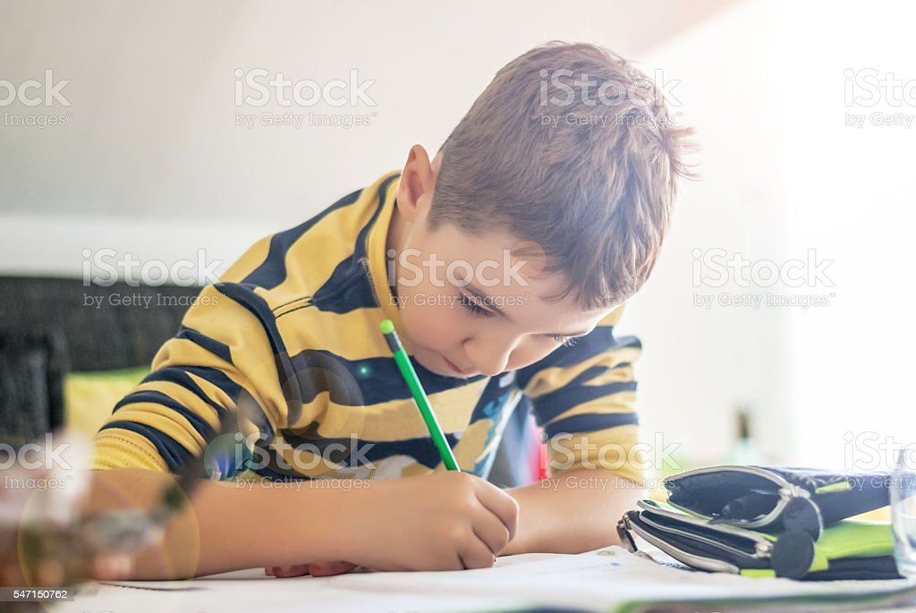 School is mandatory stock photo