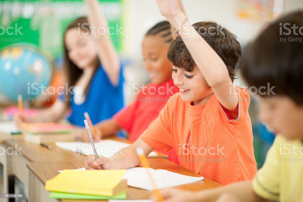 School kids stock photo