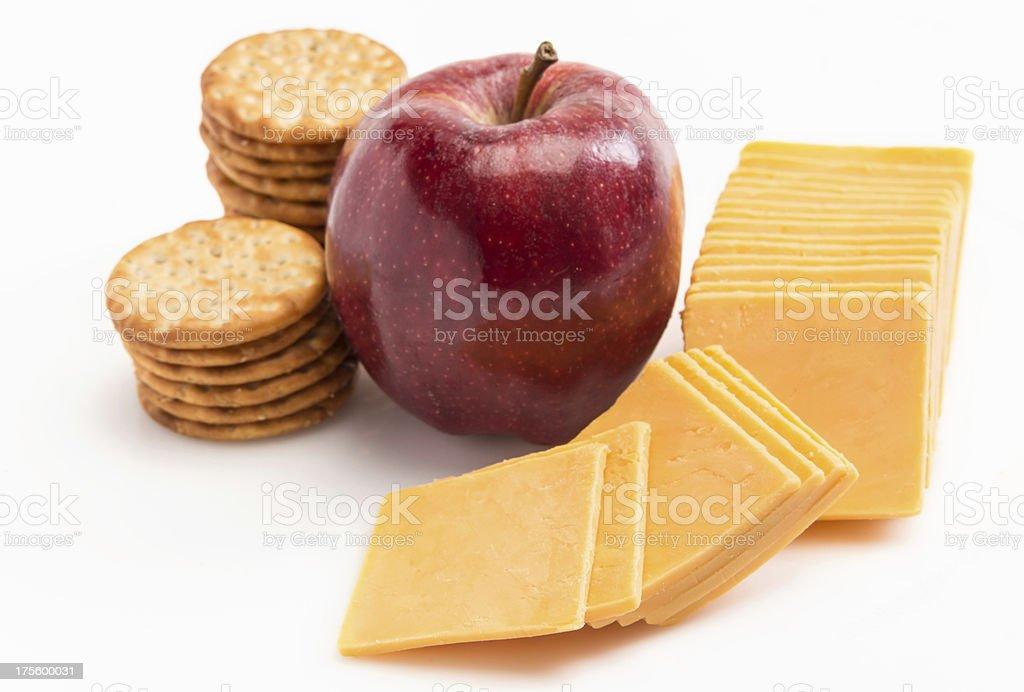 School lunch stock photo
