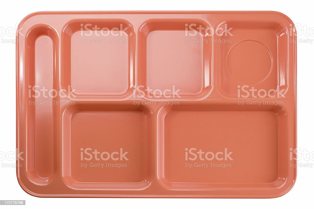 School Lunch Tray royalty-free stock photo