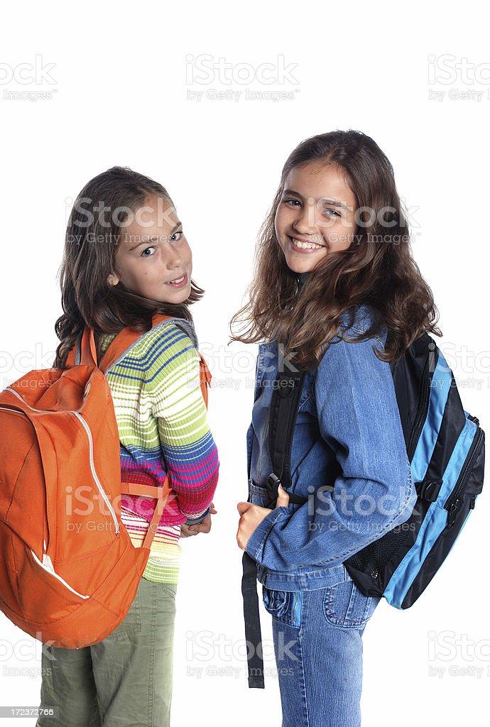 School mates royalty-free stock photo
