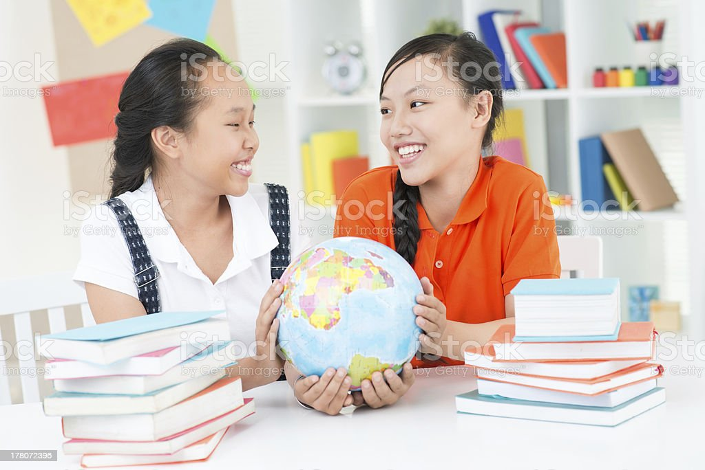 School mates royalty-free stock photo