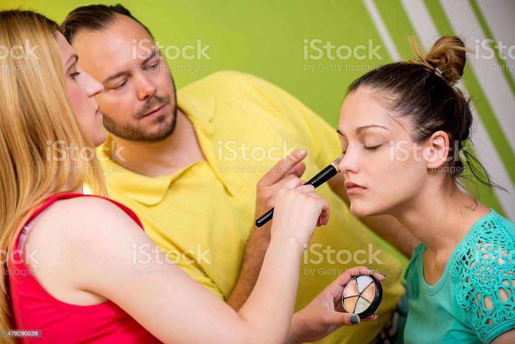 School Of Makeup stock photo