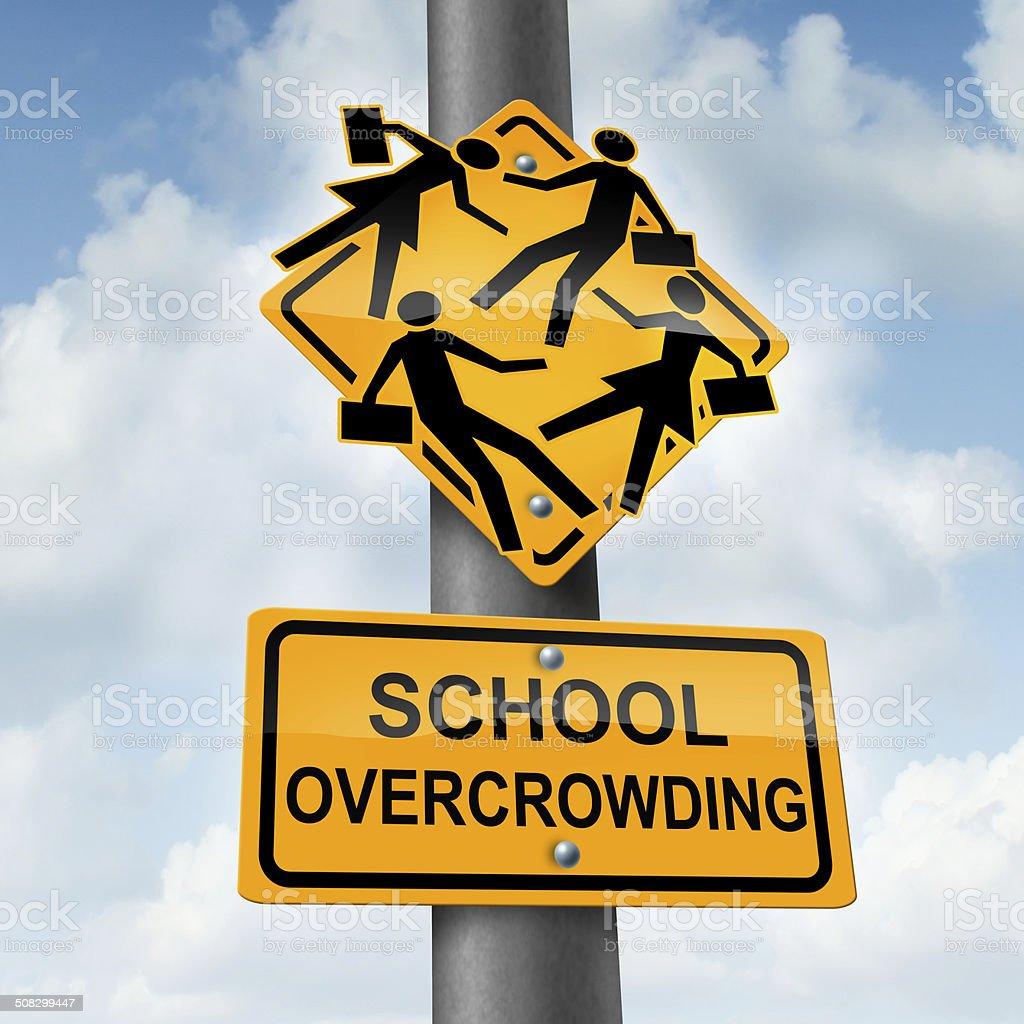 School Overcrowding stock photo