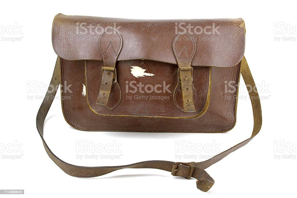 School Satchel royalty-free stock photo