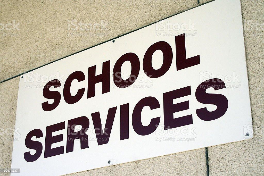 school services stock photo