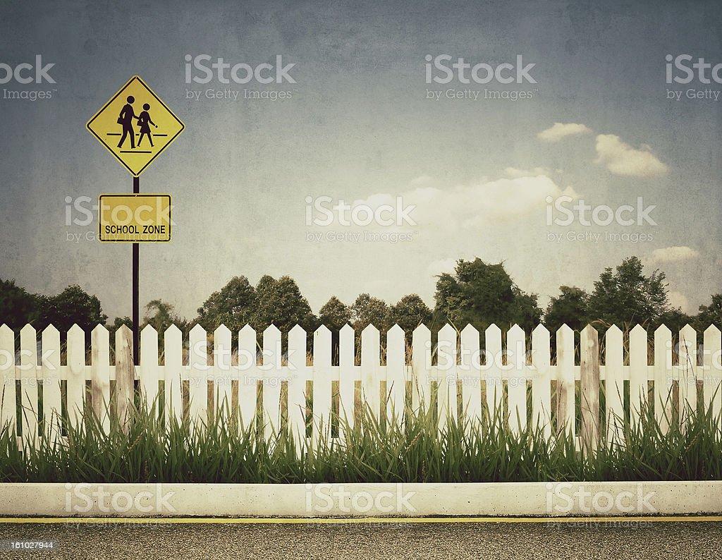 school sign royalty-free stock photo