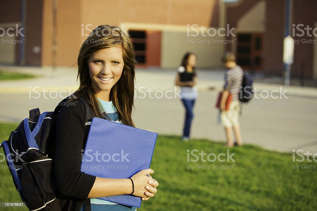 School Student royalty-free stock photo