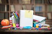 School, studying, isolated