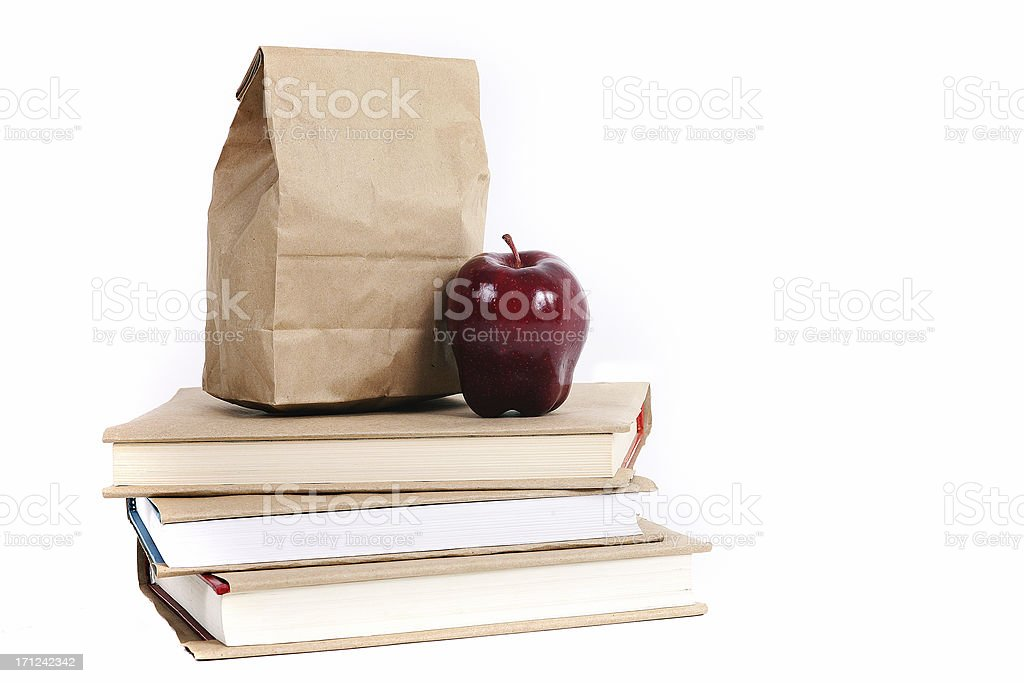 school stuff royalty-free stock photo