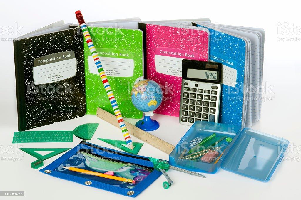 School Supplies stock photo