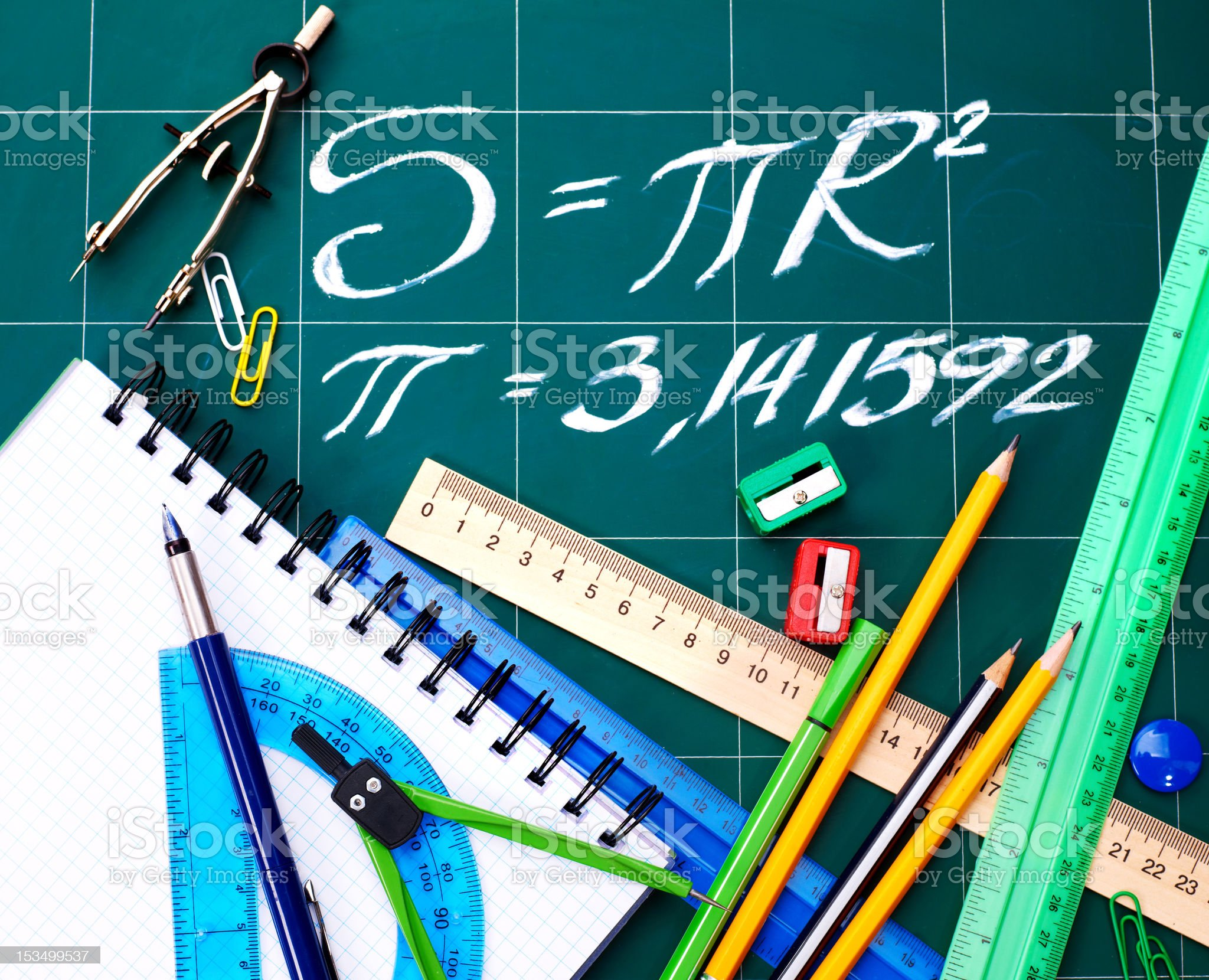 School supplies. royalty-free stock photo