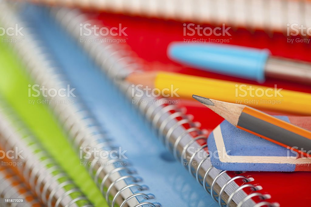 School supplies. royalty-free stock photo