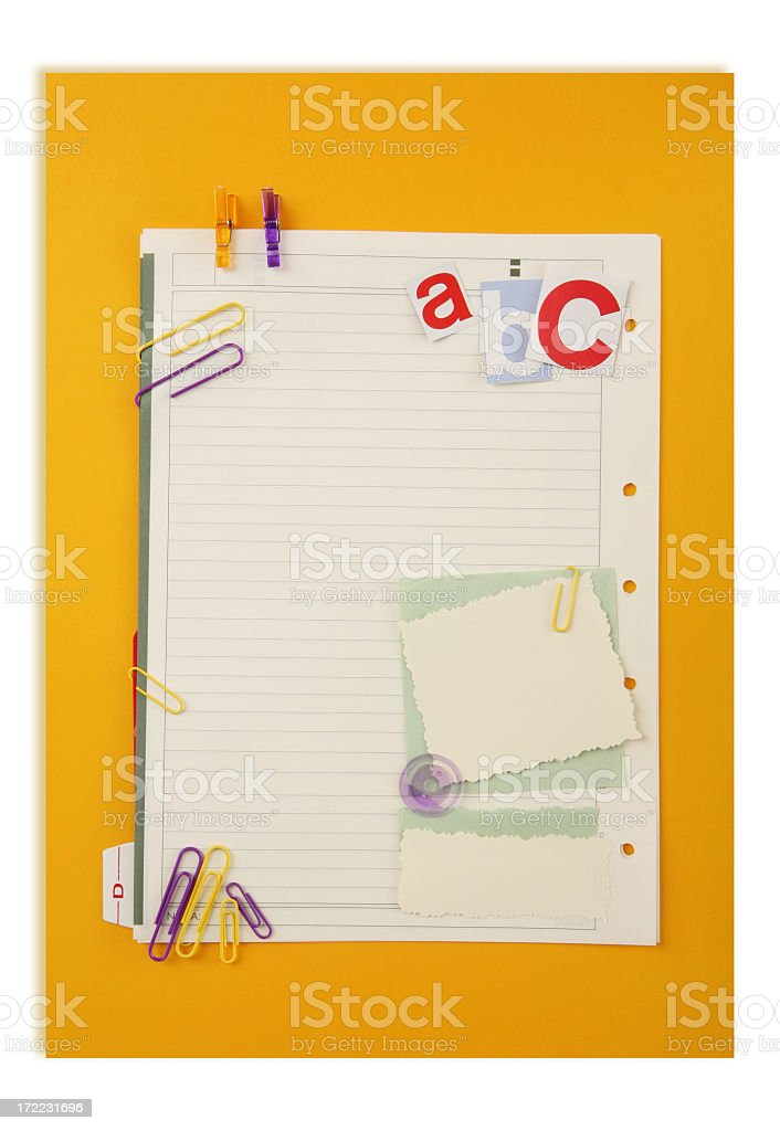 school supply royalty-free stock photo