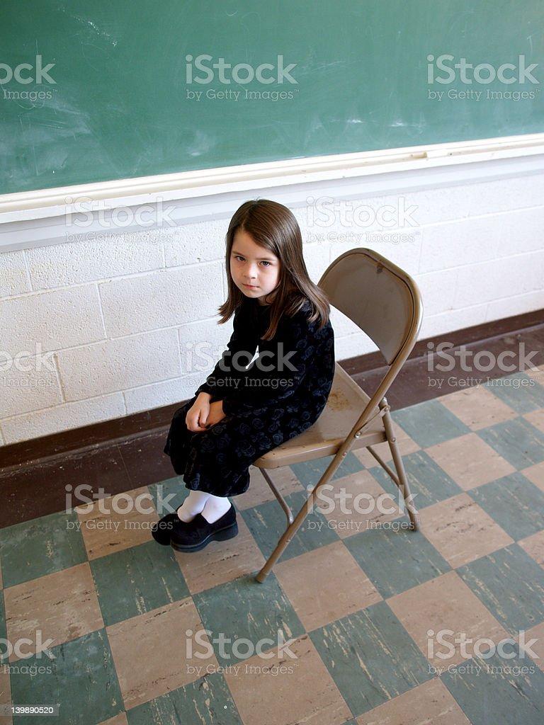 School Troubles stock photo